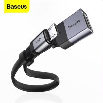 Baseus OTG Micro USB Adapter Cable to USB Female For Xiaomi Redmi Note 5 Samsung S6 Tablet PC Android USB 2.0 Connector Adapter