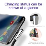 Baseus Lighting USB Type C Cable Fast Charging Type-c Cable For Samsung S10 S9 Xiaomi mi 9 8 Huawei P20 Lite USB-C Charger Cable