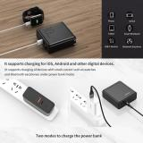 ROCK 18W PD Fast Charger Power Bank Foldable 2 in 1 PD 3.0 QC 3.0 USB Type C PD Charger 10000mAh EU Powerbank External Battery