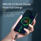 Baseus PD 100W USB C To Type C Cable QC 3.0 Quick Charge 4.0 Data Cable Fast Charging For Samsung Xiaomi Macbook Pro USB C Cable