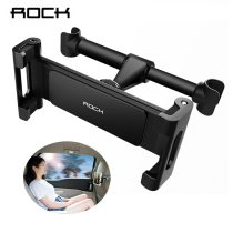Rock Car Back Seat Tablet Stand Adjustable 4-11 inch Bracket Mount Universal For iPhone X 8 7 6 Plus iPad Air 2 3 4 5 Air 6