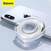 Baseus Universal Mobile Phone Holder For Tablet Car Holder Strong Adsorption Desk Wall Sticker Paste Holder with Cable Winder
