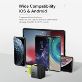 ROCK 2 Ports USB C Wall Charger 12W USB Power Adapter Phone Travel Home Charger for iPhone 11 Pro Max X 8 Plus 7 6 iPad Mini Air