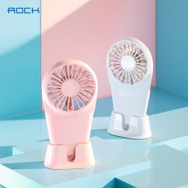 ROCK Mini Portable Pocket USB Fan Handy Air Cooling Fan For Outdoor Home Hand Held Travel Cooler Cooling Usb Charge Mini Fans