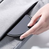 ROCK 10W Qi Wireless Charger For iPhone 11 Pro X XS XR 8 Fast Charging Mobile Phone Charge Mirror Pad For Xiaomi Mi9 Samsung S9