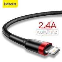 Baseus USB Cable For iPhone 12 11 Pro Max X XR XS 8 7 6 6s Plus Fast Charging Phone Cable For iPhone SE 5 5s iPad Data Wire Cord