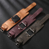 Leather Strap For Apple Watch Band 38mm 42mm iwatch 4 5 band 44mm 40mm Watchband for apple watch 4 3 2 1 Leather +Alloy + Stainless Steel pin
