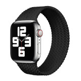 Silicone material Braided Solo Loop Strap For Apple Watch band 44mm 40mm 38mm 42mm Elastic Bracelet iWatch Apple Watch Series 6 SE 5 4 3
