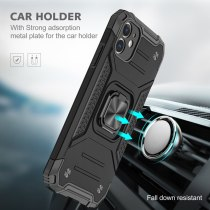 Magnetic Case for iPhone 12 Pro Max 12 Mini iPhone 11 XS Max XR 6S 7 8 Plus Armor Magnetic Ring Holder Coque Phone Case Cover Capa