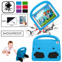 Shockproof Washable Case For iPad air/air2 Pro 9.7 2017 2018 Kids Stand Tablet Cover Full body Children Cute For Mini 1 2 3 4 5 Case iPad 2 3 4 Case iPad pro 10.2 2019 /10.5 Case