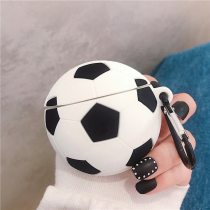 For AirPod 2 For Apple Airpods Pro Case 3D Sport Soccer Football Cartoon Soft Silicone Earphone Case Cute Cover