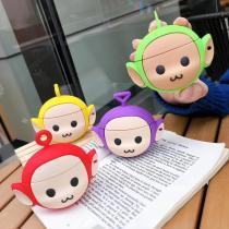 3D Cartoon Teletubbies Bluetooth Wireless Silicone Case for Apple Airpods PRO 3 Charging Headphone Case