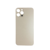 For iPhone 12 Pro Back Glass Cover Replacement Big Camera Hole