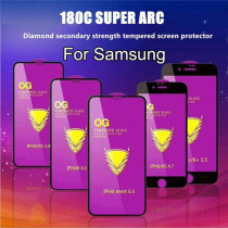OG High Quality Big Curved Tempered Glass For Samsung Galaxy A71 A51 A41 A31 A21 A70 A50 A30 Mobile Phone Protective Film
