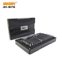 JAKEMY 106 in 1 Precision Screwdriver Set Magnetic CR-V Hex Torx Phillips Bits for iPhone Computer Electronics Repair Tools Kit