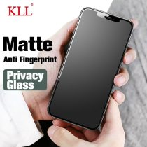 Privacy No fingerprint Matte Tempered Glass for iPhone X 7 8 6s Plus Screen Protector iphone XR XS 11 Pro max SE 2 12 Spy glass