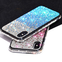 Gradient Diamond Glitter Bling Case For iPhone 11 Pro Max 12 Mini Rhinestone Cover For Women Girl For iPhone X XS Max Case