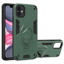 Shockproof Stand Holder Phone Case For iPhone 12 Pro Max Bracket Back Cover For iPhone 11 11Pro Armor Phone Case