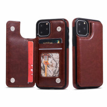 Card Slots Holder Shockproof Case for iPhone 11 Pro Max Back Cover For iPhone 12 Pro 12Pro Flip Wallet PU Leather Phone Case