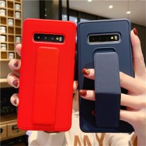 Wrist Strap Phone Case with Foldable Hand Band Ring Holder For Samsung Galaxy S20 S10 A50 A70 A40 S10e Note 10 20 Plus