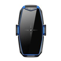 15W Max Fast Wireless Charger Car Holder forSamsung S10+/S10/S9 Qi Automatic Clamp Phone Holder foriphone11 pro 11