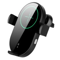 15W Car Qi Charger Automatic Clamp Wireless Charge Car Holder Mount H8 foriphone 11 pro 11 XR MAX forSamsung S20 S10