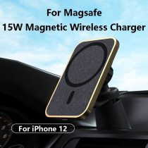 15W magnetic wireless charger for Magsafe for iphone12 magnetic charger wireless magic clip new mobile phone charger