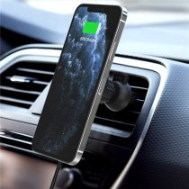 15W Magnetic Wireless Charger for iPhone 12 Por Max 12mini For iPhone 12 Wireless Charger Ultra-Speed Wireless Charging Vent Bra