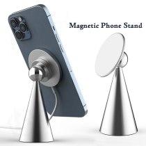 Desktop charging pad for iPhone 12 Magnetic mobile phone holder Magnetic wireless charger for iPhone 12 Pro Max mini