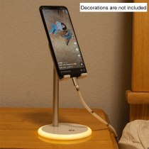 The new detachable desktop multi-angle anti-scratch with night light live tablet support mobile phone support height adjustable