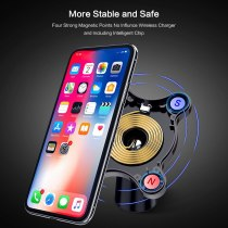 For iPhone 12 Pro 12mini Pro Max new magnetic car outlet wireless fast charging bracket car wireless charging