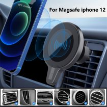 15W Magnetic Car Charger for iPhone12Pro/Mini/Max Wireless Charger Fast Charging Car Phone Holder