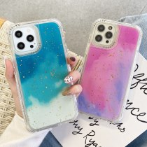 Phone Case For iPhone 12 11 Pro XR XS MAX 6 6S 7 8 Plus X SE 2 3 In 1 Shockproof Silicone Protection Rainbow Colors Back Cover