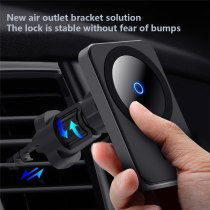 15W magnetic wireless car charger for Magsafe iphone 12 12Pro 12mini 12ProMax Airvent magnet adsorption car holder