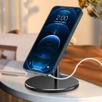 Suitable for MagSafe iPhone 12Pro 12ProMax 12mini charger folding mobile phone holder 360 degree wireless charging stand