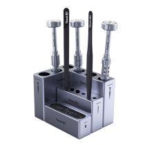 QIANLI ToolPlus Innovative Modular Box/ Screwdriver/ Tweezers/ Screws/Magnetic Mobile Phone Repair Storage Tool Set of 4