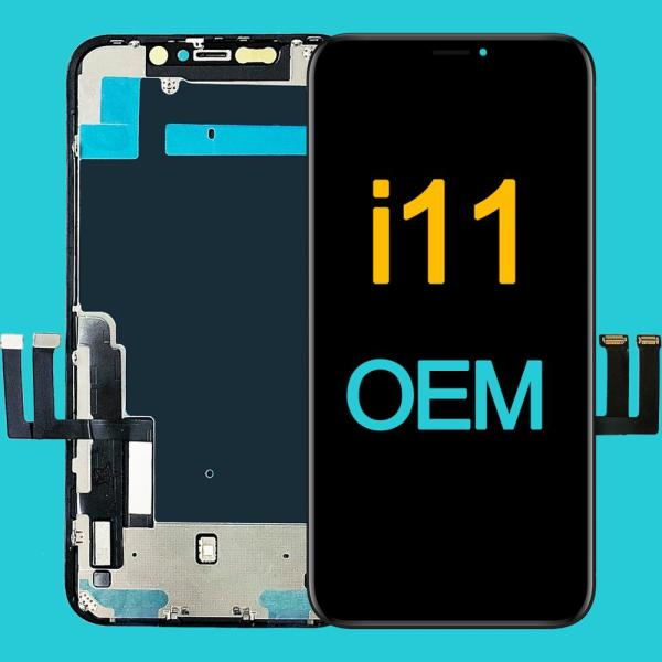 Grade AAA+++ For iPhone 11 LCD Display With 3D Touch Screen Digitizer Assembly Replacement For iPhone11 Retina LCD OEM