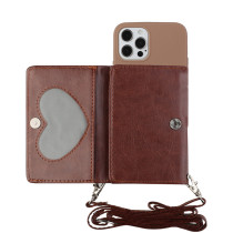 NEW Silicone Lanyard Wallets Phone Case For iPhone 11 Pro Max SE 2020 X XR XS Max 6 6s 7 8 Plus 12 Card Strap Holder Shell