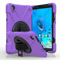 360 Rotation Heavy Shockproof Case For For iPad air/air2 Pro 9.7 2017 2018 For Mini 1 2 3 4 5 iPad 2 3 4 Case iPad pro 10.2 2019 /10.5 Case Rugged Duty Tablet Protective Cover+Straps