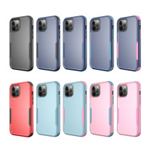 3 in 1 Hybrid PC TPU Phone Case For iPhone 11 Pro XS Max XR 7 8 6s 6 Plus Cases Shockproof Bumper Cover