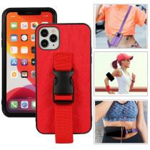 Arm Wrist Band Necklace Chain Phone Case for iPhone 11 Pro Max 12 Mini SE 7 8 Plus X Xs Max Xr Wrist Strap Silicone Cover Cuque