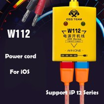 OSS Team W112 Boot Power Cord Mobile for iPhone Repair Motherboard Detection Line 5678P XR XS 11 12 PRO Max Repair New Tools