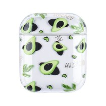 Transparent Earphone PC Protective Case For Apple AirPods 2 1 Case Flower Clear Hard Plastic Wireless Bluetooth Earphone Cases Fashion