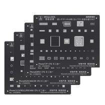 Qianli Black Plus BGA Reballing Stencil for Phone 11Pro Max 11Pro X XS XR XSMAX 8P 8 7P 6P NAND IC Chip Square Hole Stencil