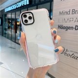 Transparent Multicolor Anti-fall Phone Case For iPhone 11 Pro Max For iPhone 12 Pro 12mini Clear Shockproof Frame Back Soft Case