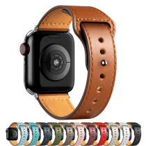 PU Leather strap For Apple watch band 44mm 40mm 42mm 38mm 44 mm Smartwatch Accessories Sport bracelet iWatch series 3 4 5 6 se