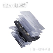 Qianli 10 in 1 Middle Frame Planting Platform for iPhone X-12 Pro Max Motherboard Tin Planting Magnetic Attraction Station Tools