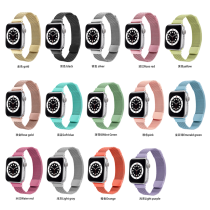 Strap For Apple watch band 44mm 40mm iWatch 42mm 38mm stainless steel Metal bracelet magnetic loop Apple watch 3 4 5 6 se