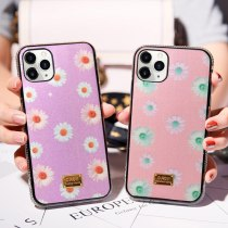 New Flower Girl Glitter For iPhone 13 12 mini 11Promax XR X XSMAX 7 8plus 6 6splus side Diamond Case