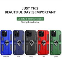 Armor Case Magnetism Holder Stand Support For iPhone 13Pro MAX 12 11 XS MAX XR 7 8Plus Shockproof Silicone Kickstand Phone Cover